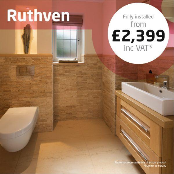 Haddow Bathrooms Ruthven bathroom suite