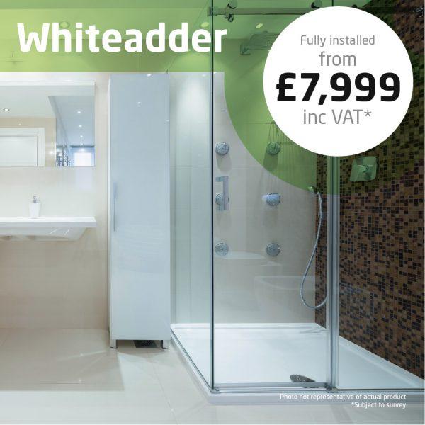 Haddow Bathrooms Whiteadder shower package
