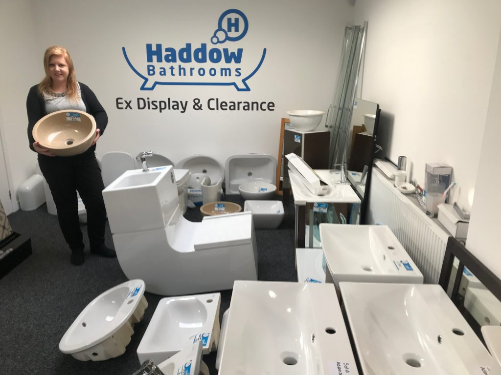 Clearance area now open at Haddow Bathrooms Perth