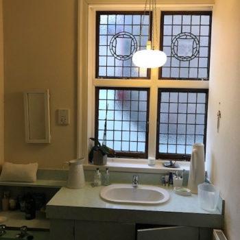 Listed Building Bathroom Refurbishment Sink Unit Before