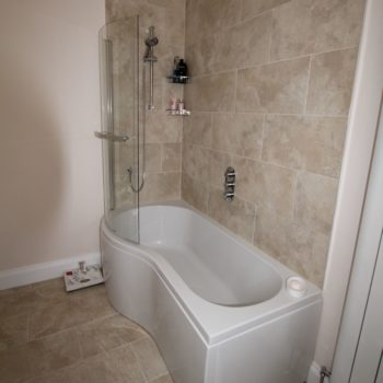 Listed Building Bathroom Refurbishment Bath And Shower After